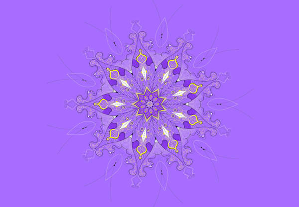 Lavender Sun