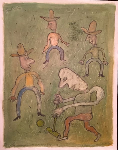 Cowboy Croquet Art | Fountainhead Gallery