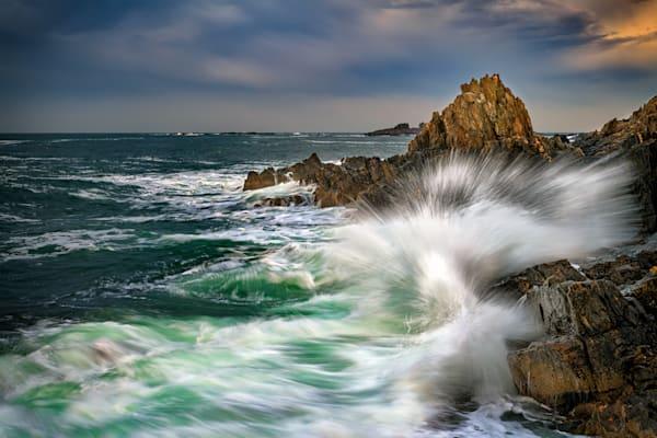 The Fury of Casco Bay by Rick Berk