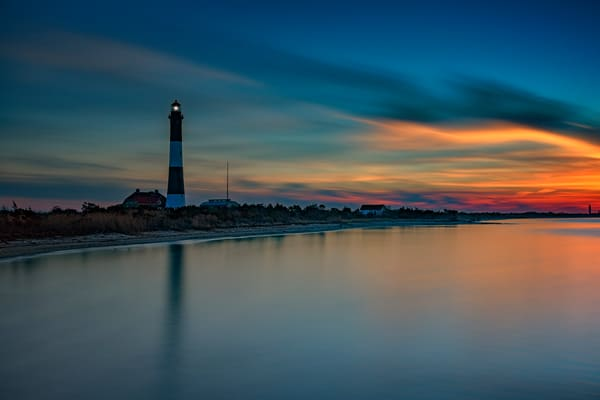 Day's End of Fire Island by Rick Berk