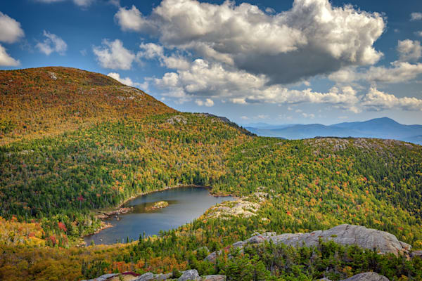 From the Summit of Tumbledown Mountain by Rick Berk