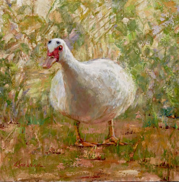 Waddle Original Oil Painting