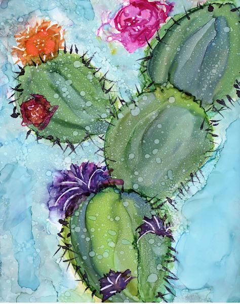 Cactus Card  Art   HFA print gallery