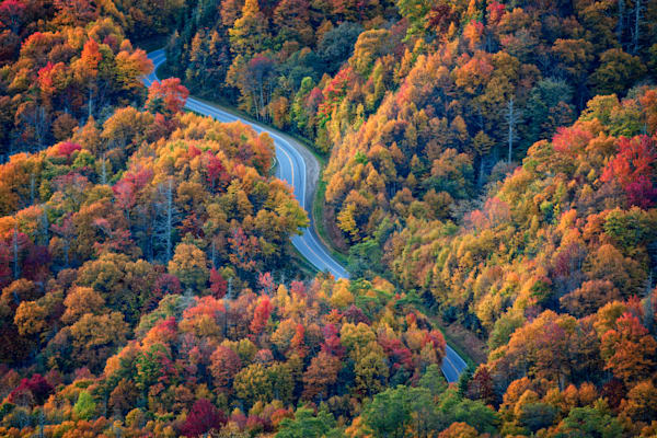 Newfound Gap by Rick Berk