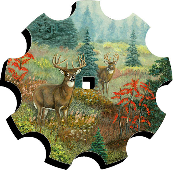 """""""Dreaming Whitetails""""   Cut Out 