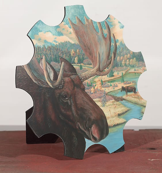 """Moose Junction"" - small cut-out"