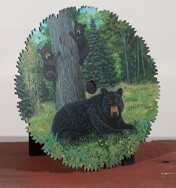 """Bear Forest Lookout"" - small cut-out"