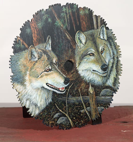 """Night Wolves"" - small cut-out"