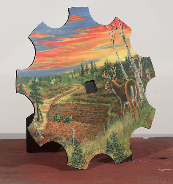 """Sunset Overlook"" - small cut-out"