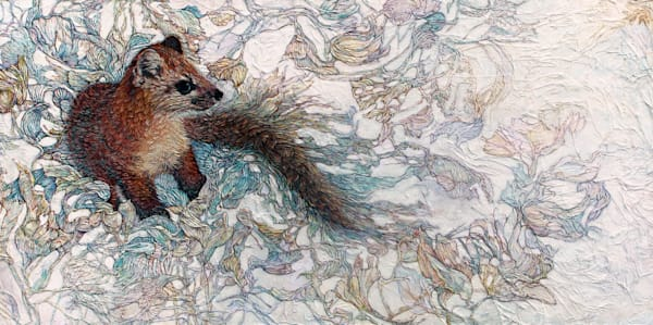 Marten, One Second Away | Col Mitchell Contemporary Paper Artist