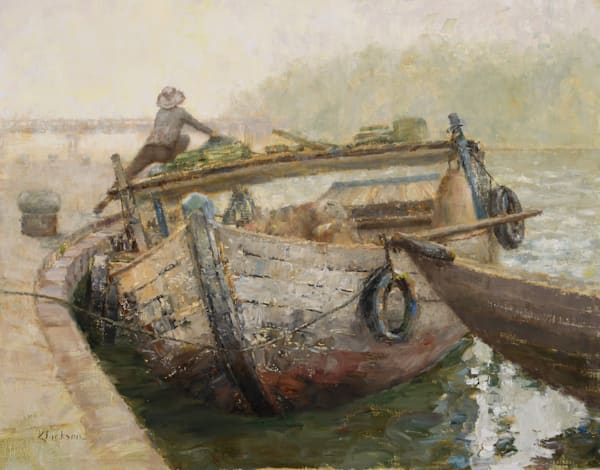 Cargo Original Oil Painting