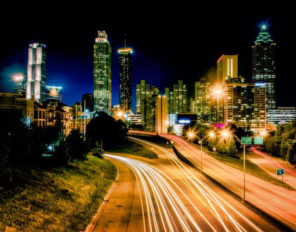 Atlanta downtown skyline photography