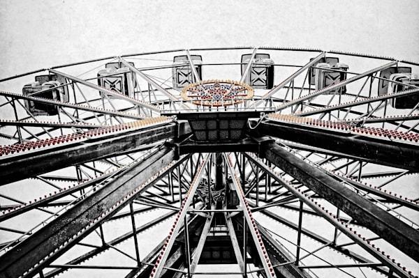 Jazzland New Orleans ferris wheel photography