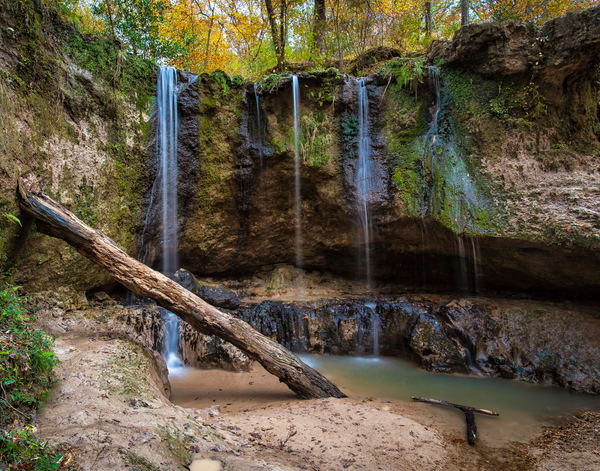 Clark Creek Natural Area Waterfall No. 1 photography