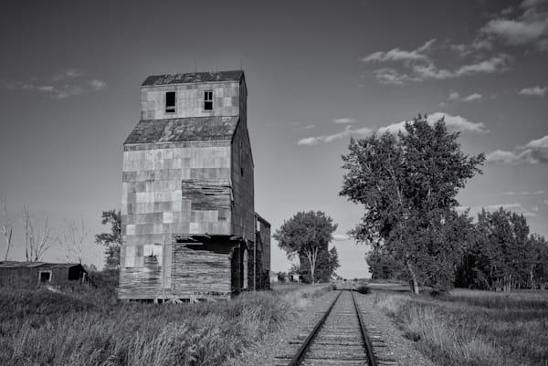 Grain Elevator   North Dakota Photography Art | Namaste Photography