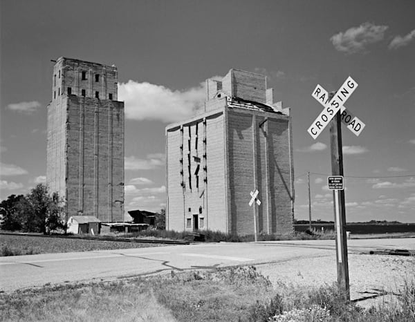 Railroad Crossing   North Dakota Photography Art | Namaste Photography