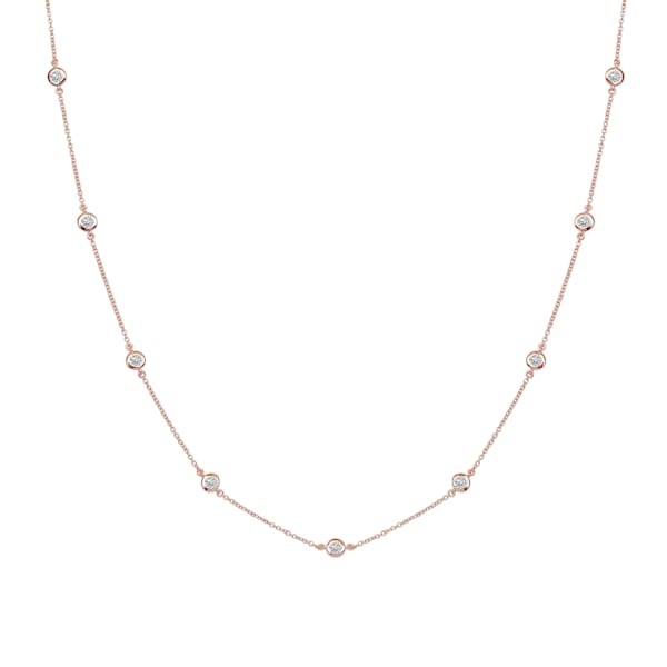 Bling By Wilkening Rose Gold Necklace