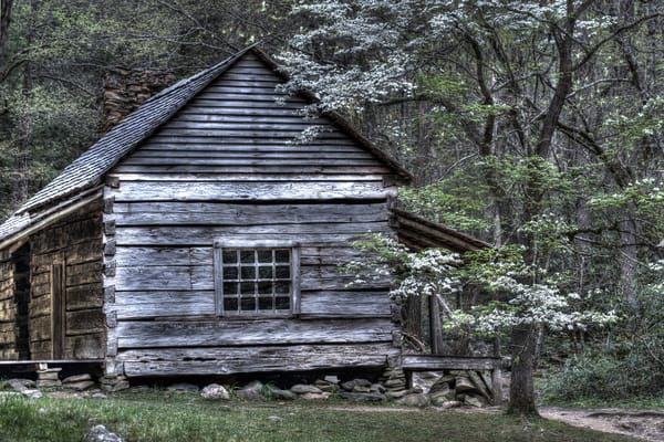 Smoky Mountains Cabin - Fine Art Photography Print