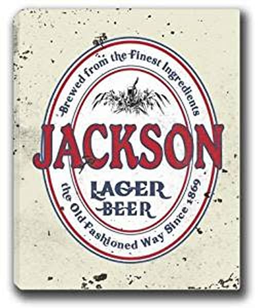 Lager Beer Canvas Sign | J Edgar Cool