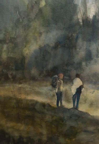 Hiking Together (Original)