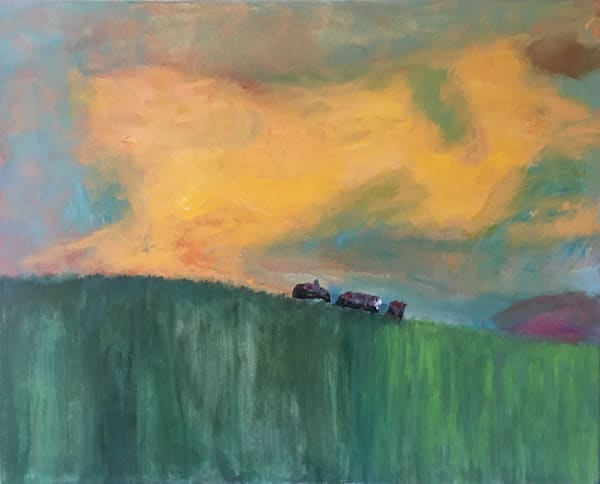 Yellow Sky Art | Mary Kinzelberg Art