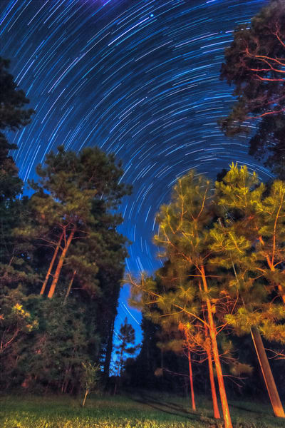 Cabarrus County Star Trails