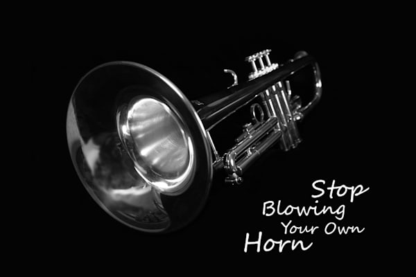 Stop Blowing Your Own Horn Photography Art | Robert Jones Photography