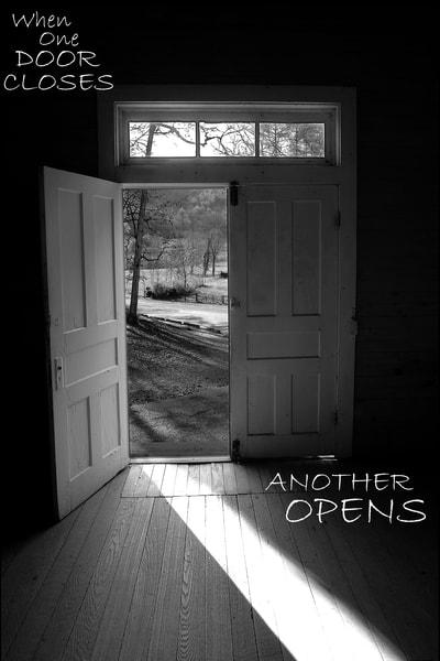 When One Door Closes Photography Art | Robert Jones Photography