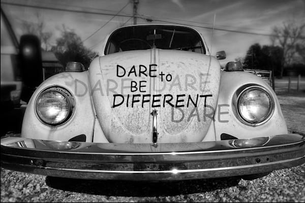 Dare To Be Different Photography Art by robertjonesphotography.com