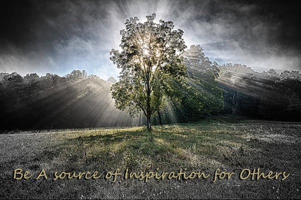 Be A Source Of Inspiration For Others Photography Art | Robert Jones Photography