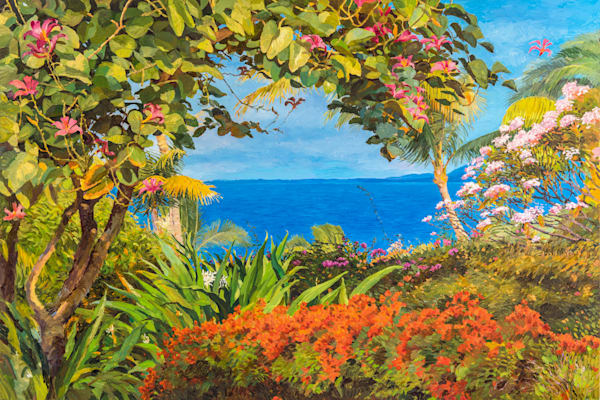 Shop original impressionistic garden oil paintings and fine art prints | Judith Barath Arts