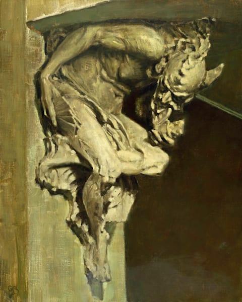 Companion Gargoyle painting George Bodine