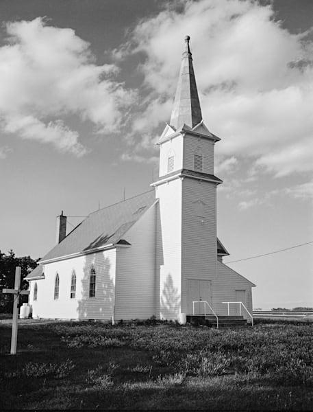 Country Church   North Dakota Photography Art | Namaste Photography