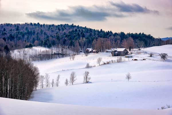 Winter Afternoon in New England