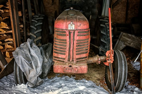 The Old Tractor by Rick Berk