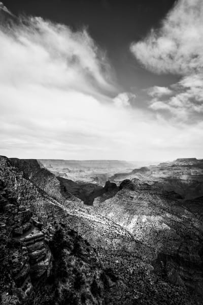 Black and White Grand Canyon: Fine Art Photography by Shane O'Donnell