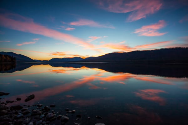 Flathead Sunset: Nature Photography by Shane O'Donnell