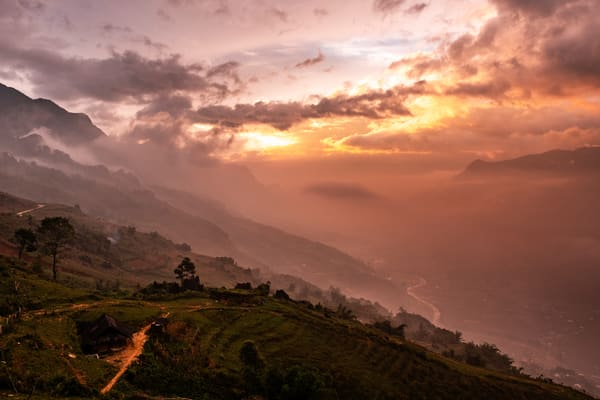 Morning Sun in Sapa
