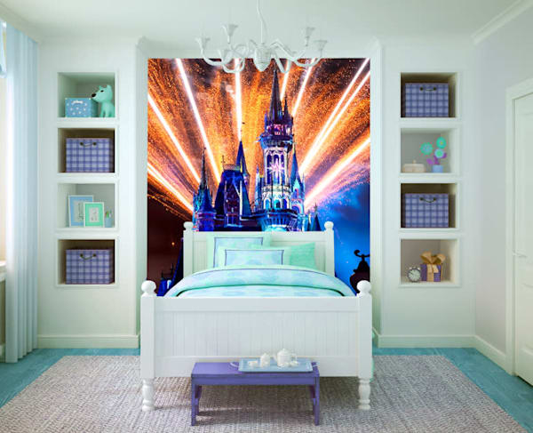 Happily Ever After 45 - Disney Castle Wall Mural