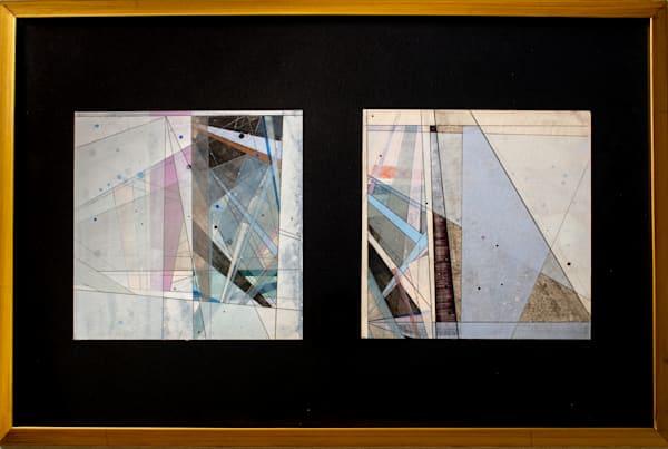 Untitled On Paper Duo – Framed Art   Romanova Art