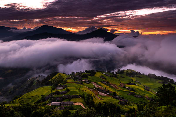Sunrising in Ha Giang