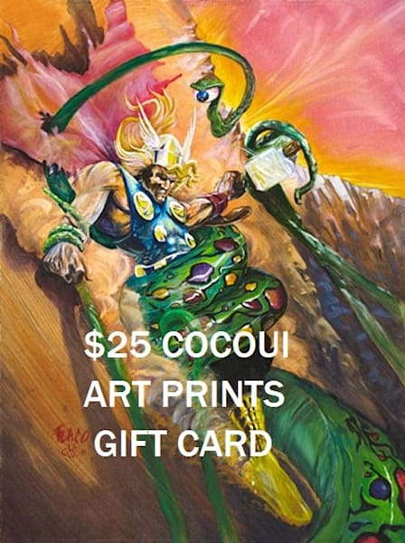 $25 Cocoui Art Prints Gift Card