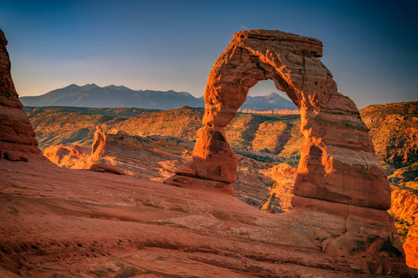 Delicate Arch at Sunrise by Rick Berk