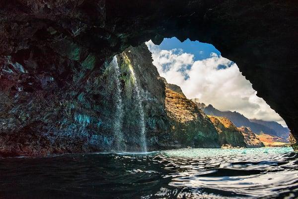 """""""NaPali Cave and Falls"""""""
