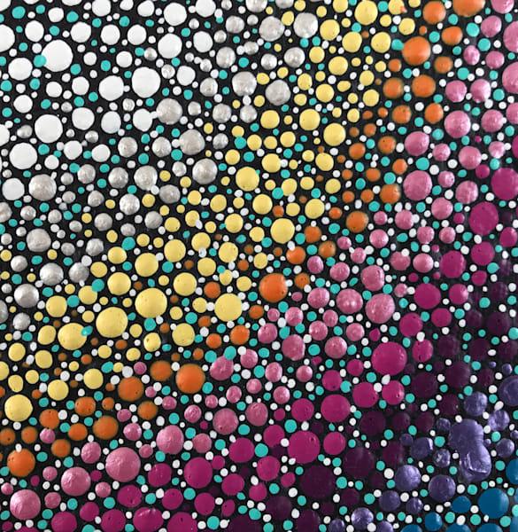 Dippin' Dots Painting
