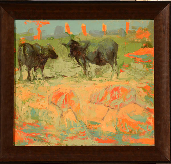 Black Cows and Cranes