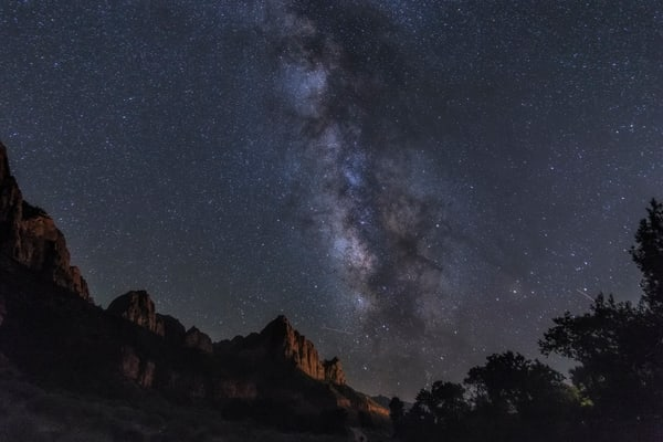 Night Over Zion #1 Photography Art | Will Nourse Photography