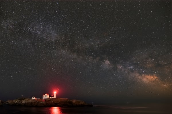 Nubble Light And The Milky Way Photography Art | Will Nourse Photography