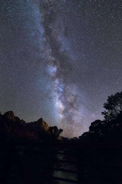 Night Over Zion #2 Photography Art | Will Nourse Photography