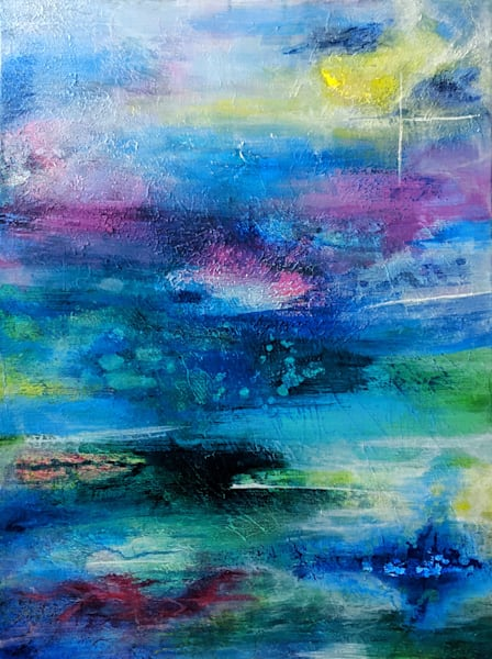Confabulation Of Water Lilies  Art   Inconsistently Inconsistent   Art by Barbi